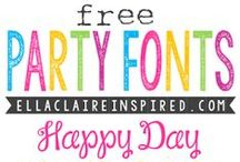 F O N T S. & D I N G B A T S / Free fonts, dingbats and images.