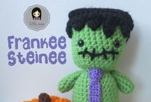 Crochet ~ Halloween / all halloween themed crochet