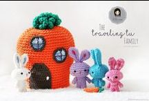 Crochet ~ Easter / easter-related crochet patterns (mostly free!) bunnys, eggs, chicks, easter baskets, etc.