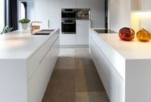 Projekt Hausbau: Küche / Inspirationen, Moods, Dekoration rund ums Thema Küche