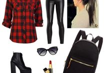 Polyvore sets / My tries to find good outfits