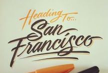 Logos and letters / Typography, logos and icons