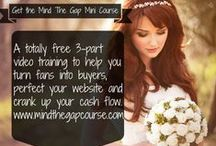 Marketing Tips For Wedding Professionals / These tips will help you rock your wedding business!