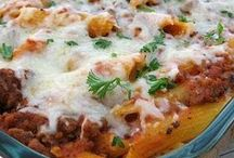 Casseroles / Easy dinners that I can toss in a casserole dish and bake in the oven