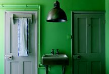 surfaces: wall & ceiling color / overall color with minimal texture - flat paint, washes, etc. / by Maggie Skodon