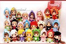 ddung doll / preciosas muñecas