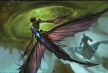 The Strange Official Art / Official art of The Strange RPG.  http://www.montecookgames.com/product/the-strange-corebook/