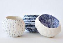 P O T T E R Y - B L U E / Ceramic | Blue & White | Ideas | Art | Design