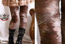 Trousers, leggings, stockings...