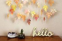 DIY - Autumn / DIY | Ideas | Autumn | Deco