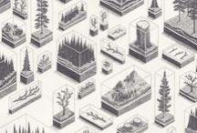 Architecture printed
