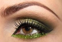 Sparkly makeup | Błyszczący makijaż / #glam #sparkly #makeup #eyemakeup