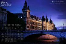 MY WORK: Landscape / Calendar / Calendario Fotografíaco