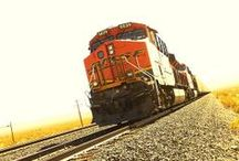 Trains-Vehicles and Transportation / Images of trains, automobiles, boats, airplanes and other transportation.