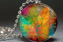 Craft : Resin and glass jewels