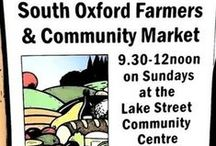 Farmer's Market / Meet us at the South Oxford Farmers and Community Market