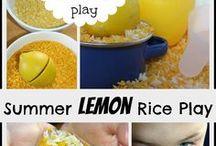 Sensory play - Geruchsinn & Geschmack / Sensory Play Ideen für den Geruchsinn & Geschmack (oral)