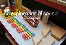 Sensory Play - Hörsinn / Sensory Play Ideen für den Hörsinn