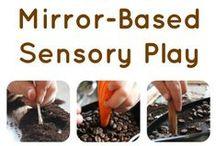 Sensory Play - Sehsinn / Sensory Play Ideen für den Sehsinn