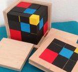 Montessori - Sinnesmaterial / Klassisches Montessorimaterial - Sinnesmaterial