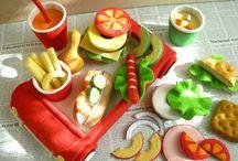 Rollenspiel - Küche / Dinge, die man in der Kinderküche brauchen kann