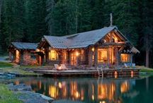 Cabin Love / Cabins of all types. Luxury cabins, small cabins, sustainable cabins, off the grid cabins, you name it. If it's cabins, it belongs here.
