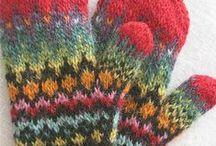Knit Gnat Mitts