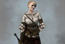 The Witcher Inhabitants, Outfits, Weapons & Gear