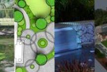 Garden design plans / Projekty ogrodów