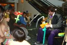 BALLOON ARTIST & MAGICIAN / Entertainment for your next party! www.zonereality.com