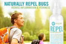 Perfect Products for Summer / The Healthy Home Company is proud announce five new products this summer: Repel Bug Spray and Bite Relief, Protect Sunscreen SPF 32, Fresh Deodorant, Men's Two-In-One, and Renew Hair Gel!  / by Healthy Home Company