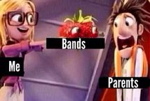 Bands / 5SOS, ATL, BVB, SWS, PTV, OM&M, MCR, and cameo's by others :) / by Kalea Pottle