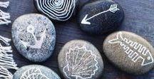 Painted Stones.. / Painting stones.. ROCKS!!
