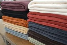 Plush & Cozy Fall Fleece Blankets / Get ready to snuggle this fall! Cozy, warm and ultra soft, our fleece blankets are perfect for the transition from summer to fall.