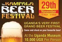 Kampala Beer Festival / Kampala Beer Festival 2014 | Facebook & Twitter Engagement Artwork Desgins