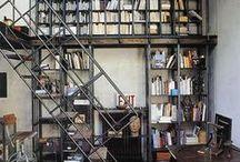 Bibliothèque en Metal