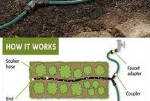 Irrigation / Nawadnianie ogrodów / Various methods for watering gardens. / Różne metody nawadniania ogrodów. Systemy nawadniające, zraszacze, linie kroplujące i inne.