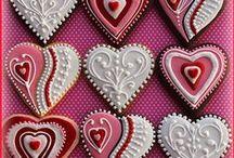 Valentinstag / Ohhhh LOVE! Herzchen, rosa Zuckerguss und Blümchen! Auf dieser Pinnwand geht es nur um die Liebe !