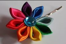 Kanzashi petals / Results of my creativity / by Katrina Willis