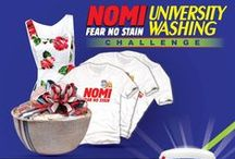 Nomi - Fear No Stain / Nomi - Fear No Stain University Washing Challenge | Design by Creative Mode