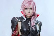Cosplay / Cosplay Games, videogames, films, anime and manga, final fantasy, Jessica Nigri, disfraz, disfraces, freak, geek, costume