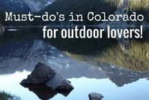 Natural Beauty of Colorado / Not sure where to go on your next US adventure? Colorado is the obvious choice! Be sure to book an adventure with Apex Ex while you're here.
