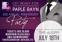 Paple Rayn | Social Campaigns / Social Media Campaign artworks for Paple Rayn 2nd Annual Anniversary Party & Paple Rayn Hub Launch Event