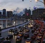 Intelligent Moscow / Panoramas, picturesque views of the Russian capital