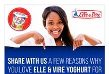 Olympus Foods | Social Campaigns / Campaign artwork promoting Elle & Vire Desserts for our client Olympus Foods.