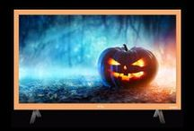 Halloween Decoration / Decorate your home with orange and dark shades to celebrate Halloween!