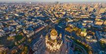 Bird's Eye Views / Panoramic View Points of Moscow!