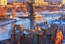 Sunrise & Sunset / Sunrise and Sunset photos of various tourist attractions of Moscow!