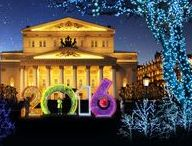 Bolshoi Theatre / A historic theater in Moscow, which holds performances of ballet and opera.