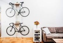 Bike Storage in Your Apartment / Stay active and learn how you can store your bicycle in your CLV Group apartment.